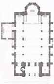 Dibujo de Arquitecto - Maisons-sur-Seine - Maisons-Laffitte - Iglesia (Eug�ne Millet)