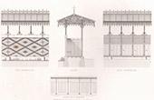 Dibujo de Arquitecto - Piscina - Lyc�e de Vanves - Isla de Francia (A. Normand)