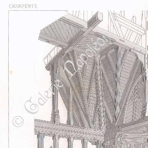 Gravures anciennes dessin d 39 architecte suresnes for Acheter maison suresnes