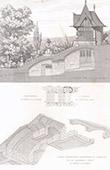 Architektenzeichnung - Suresnes - Haus (D. Darcy)