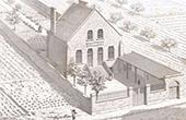 Dessin d'Architecte - Meriel - Val-d'Oise - Ecole de Filles (L.C. Boileau fils)
