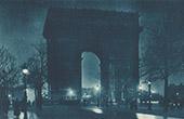 Paris la Nuit - Arc de Triomphe de l'Etoile