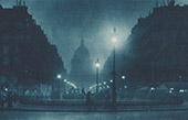 Paris la Nuit - Le Panthéon - Rue Soufflot