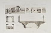 Flavien Bridge - Ancient Rome - Saint-Chamas - Bouches-du-Rh�ne -  Ambroix bridge - H�rault (France)