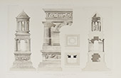 Glanum Mausoleum - Ancient Rome - Saint-Rémy-de-Provence (Bouches-du-Rhône - Bouches-du-Rhone - France)