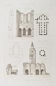 print Grande-Sauve Abbey - Vestiges - La Sauve (Gironde - France)