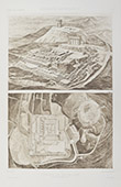 Puy-de-Dôme - Plan d'ensemble des Fouilles - 1877 - Temple de Mercure - Gallo-romain (Auvergne - France)