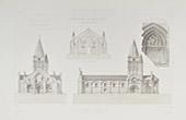 Church of Saint-Pierre d'Aulnay - Poitou-Charentes - Charente-Maritime (France)