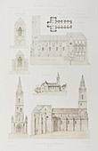 Church of La Souterraine - Limousin - Creuse (France)