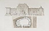Castle of Jonzac - Poitou-Charentes - Charente-Maritime (France)