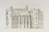 Palace of Saint-Germain-en-Laye - Île-de-France - Yvelines (France)