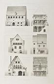 Antique houses in  Provins - �le-de-France - Seine-et-Marne (France)