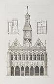 City Hall of Saint-Quentin - Aisne - (France)