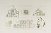 Church of Saint-Pierre d'Orbais in Orbais-l'Abbaye - Champagne-Ardenne - Marne (France)