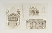 Ancienne Salle Synodale de l'Archevéché à Sens - Burgundy - Yonne (France)