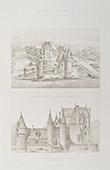Le Moulin Castle in Lassay-sur-Croisne - Centre-Val de Loire - Loir-et-Cher (France)