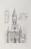 Church of Notre-Dame la Grande de Poitiers - Poitou-Charentes - Vienne (France)