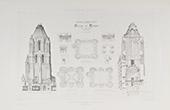 Tour Saint-Aubin - Abtei in Angers - Pays de la Loire - Maine-et-Loire (Frankreich)