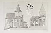 Church of Jazeneuil - Poitou-Charentes - Vienna (France)
