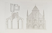 Abadia de Saint-Vincent de Nieul-sur-l'Autise - Pays de la Loire - Vendéia (França)