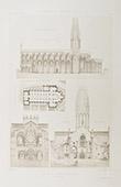 Church of  St-Pierre d'Airvault Abbey - Poitou-Charentes - Deux-S�vres (France)