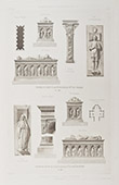 Funerary Monuments - Church of Oiron - Poitou-Charentes - Deux-S�vres (France)