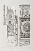 Gros Horloge von Rouen - Haute-Normandie - Seine-Maritime (Frankreich)