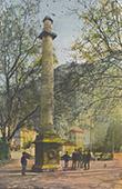 Denkmaler - Laure de Noves und Petrarca - Provence - Vaucluse (Frankreich)