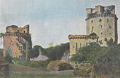 Turm von Elven - Schloss von Largoët - Bretagne - Morbihan (Frankreich)