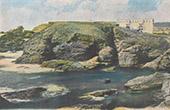 Pointe des Poulains - Fort - Sarah Bernhardt - Sauzon - Belle-Île-en-Mer - Bretagne - Morbihan (France)