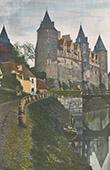 Castle - Château de Josselin - Brittany - Morbihan (France)