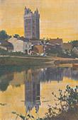 Schloss von Oudon - Turm - Pays de la Loire - Loire-Atlantique (Frankreich)