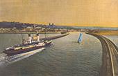 Ansicht von Boulogne-sur-Mer - Pas-de-Calais (Frankreich)