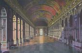 Schloss Versailles - Galerie des Glaces (Hardouin-Mansart et Le Brun)