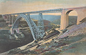 Garabit viaduct - Railway - Gustave Eiffel - Cantal (France)