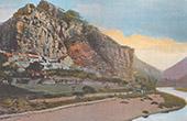 Vy �ver La Mal�ne - Gorges du Tarn - Languedoc-Roussillon - Loz�re (Frankrike)