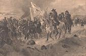 Schlacht von Ramillies - Belgien - Spanischer Erbfolgekrieg (1706)