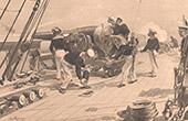 Angriff von Alexandrien - Alexandria - Ägypten (1882)
