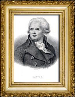 Portr�t von Danton (1759-1794)