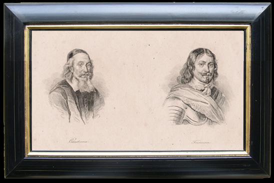 Gravures Anciennes & Dessins | Portraits de Oxenstierna et Torstenson (Suède) | Gravure | 1810
