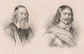 Portraits of Oxenstierna and Torstenson (Sweden)