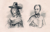 Portraits of Christina and Charles XII of Sweden
