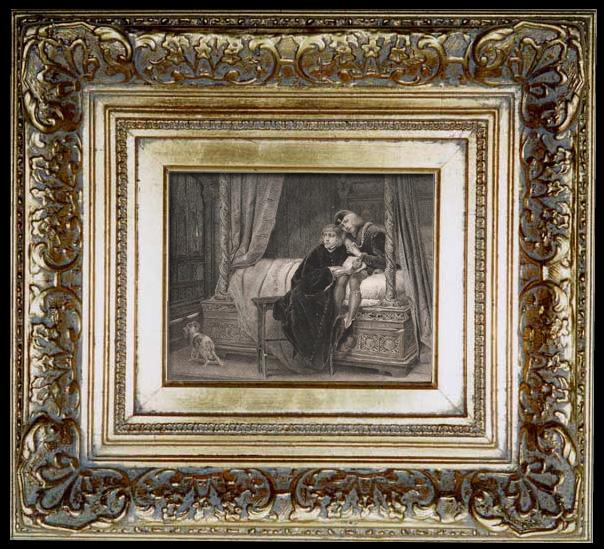 Gravures Anciennes & Dessins | Les Enfants d'Édouard de Casimir Delavigne (1833) | Taille-douce | 1836