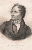 Portrait of Casimir Delavigne