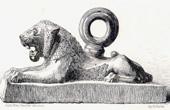 Bronze Lion of the Sargon's Palace (Khorsabad)