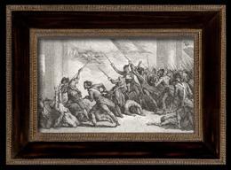 Franz�sische Revolution : Leute zum Tuileries (1792)
