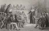 French Revolution : Marie-Antoinette in front of the Revolutionary Court (1793)