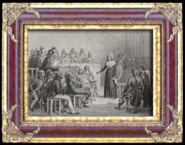 Französische Revolution : Maria Antonia - Marie-Antoinette vor dem revolutionären Gericht (1793)