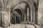 Crypt of the Basel's Cathedral - The Basel M�nster (Charles Ca�us Renoux)
