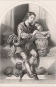 Porträt von Martin Luther als Kind (Jacques Joseph Lecurieux)